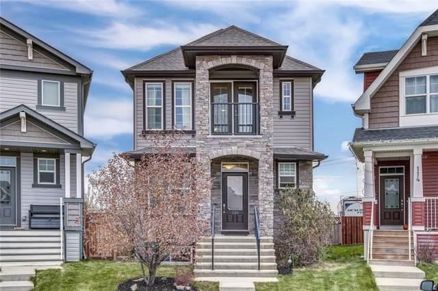110 Cranford Park SE, Calgary, AB T3M 1Z4 (#C4272870) :: Redline Real Estate Group Inc