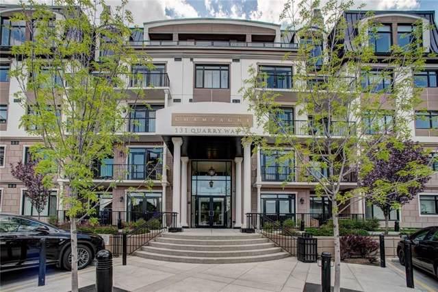 131 Quarry Way SE #203, Calgary, AB T2C 5L7 (#C4273016) :: Redline Real Estate Group Inc