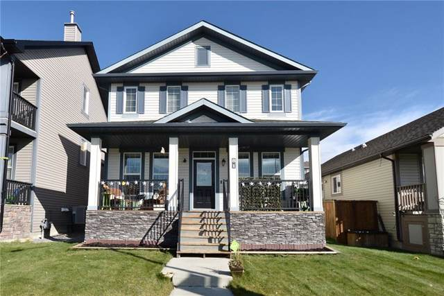 81 Heritage Drive, Cochrane, AB T4C 0E2 (#C4273172) :: Redline Real Estate Group Inc