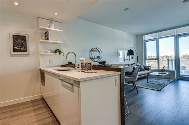 108 Waterfront Court SW #1205, Calgary, AB T2P 1K7 (#C4273238) :: The Cliff Stevenson Group