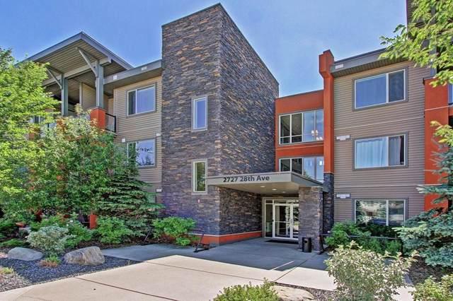 2727 28 Avenue SE #322, Calgary, AB T2H 1L9 (#C4273248) :: Calgary Homefinders
