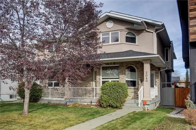 2040 38 Avenue SW, Calgary, AB T2T 2K4 (#C4273589) :: Virtu Real Estate