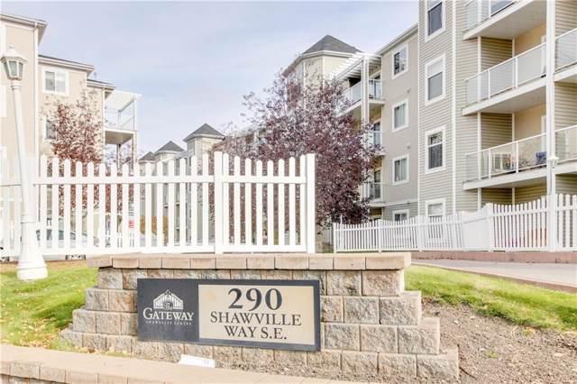 290 Shawville Way SE #419, Calgary, AB T2Y 3Z9 (#C4273611) :: Virtu Real Estate