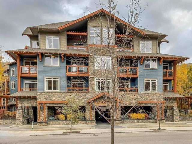 170 Kananaskis  Way #115, Canmore, AB T1W 0A8 (#C4273657) :: Redline Real Estate Group Inc