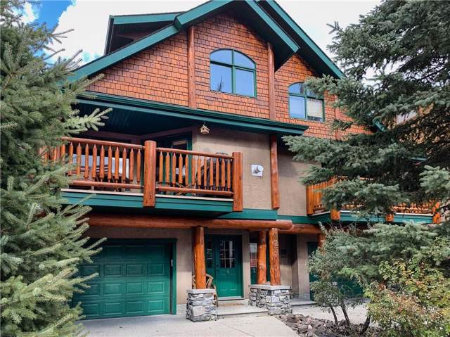 825 4th Street #4, Canmore, AB T1W 2G9 (#C4273675) :: The Cliff Stevenson Group