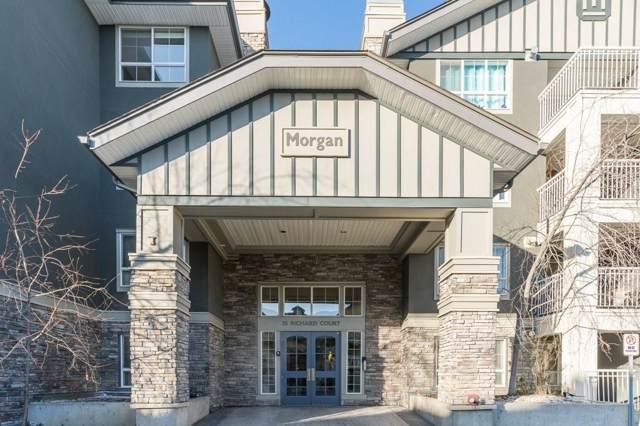 35 Richard Court SW #208, Calgary, AB T3E 7N9 (#C4273724) :: The Cliff Stevenson Group