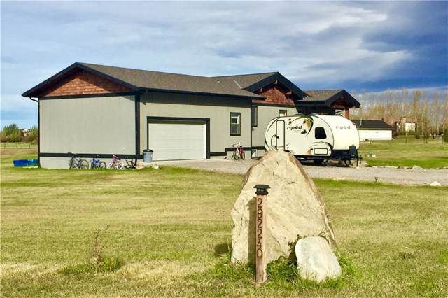 292240 Butte Hills Lane, Rural Rocky View County, AB T4A 0N8 (#C4273739) :: Redline Real Estate Group Inc