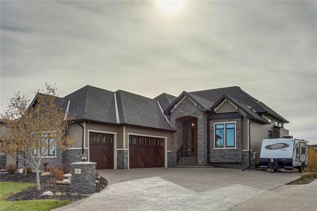15 Cimarron Estates Gate, Okotoks, AB T1S 0M9 (#C4273757) :: Calgary Homefinders