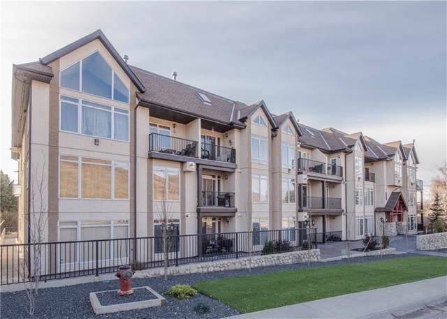 141 Mountain Street #209, Cochrane, AB T4C 1Z5 (#C4274170) :: Virtu Real Estate