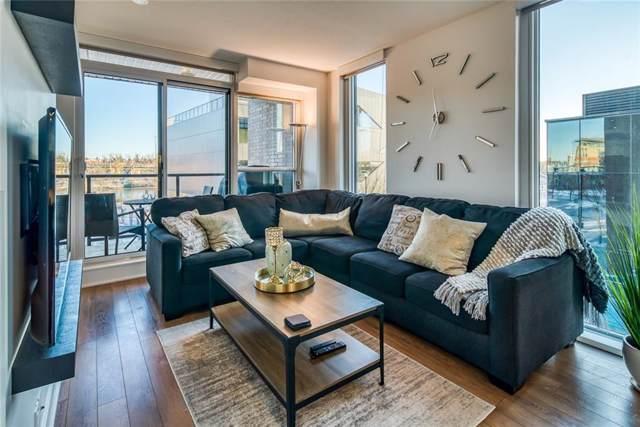 619 Confluence Way SE #319, Calgary, AB  (#C4274392) :: Redline Real Estate Group Inc
