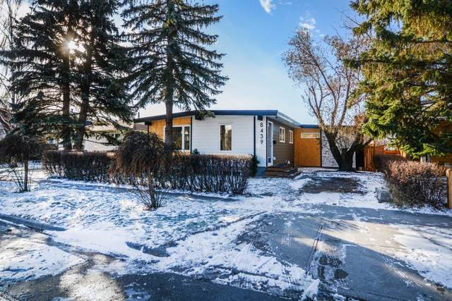 8439 Silver Springs Road NW, Calgary, AB  (#C4274486) :: Canmore & Banff