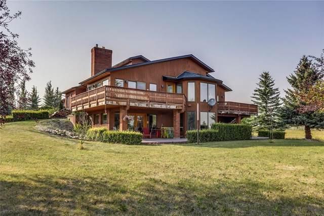 19 Calling Horse Estates, Rural Rocky View County, AB T3Z 1H4 (#C4274715) :: Virtu Real Estate