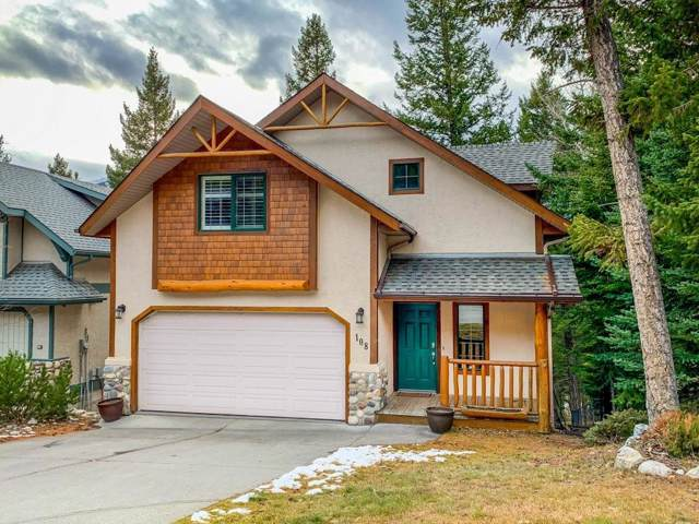 108 Eagle Terrace Road, Canmore, AB T1W 2Y5 (#C4274943) :: Calgary Homefinders