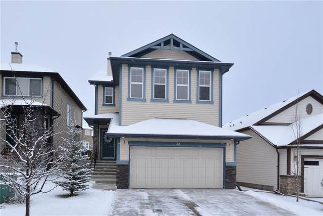 26 Heritage Landing, Cochrane, AB T4C 0E4 (#C4275077) :: Redline Real Estate Group Inc