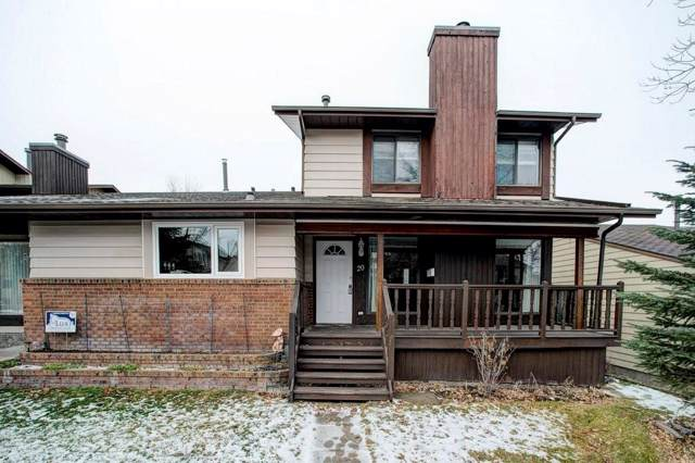 20 Strathcona Crescent SW, Calgary, AB T3H 1L1 (#C4275253) :: Canmore & Banff