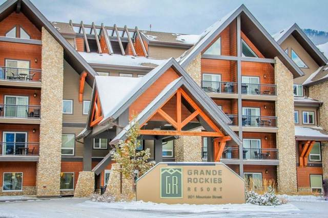901 Mountain Street #230, Canmore, AB T1W 0C9 (#C4275353) :: Canmore & Banff