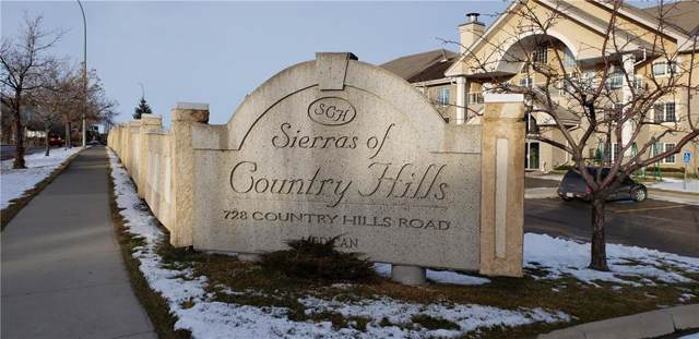 728 Country Hills Road NW #107, Calgary, AB T3K 5K8 (#C4275424) :: The Cliff Stevenson Group