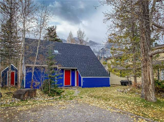 2 Riverview Place, Canmore, AB T1W 2B9 (#C4275442) :: Calgary Homefinders