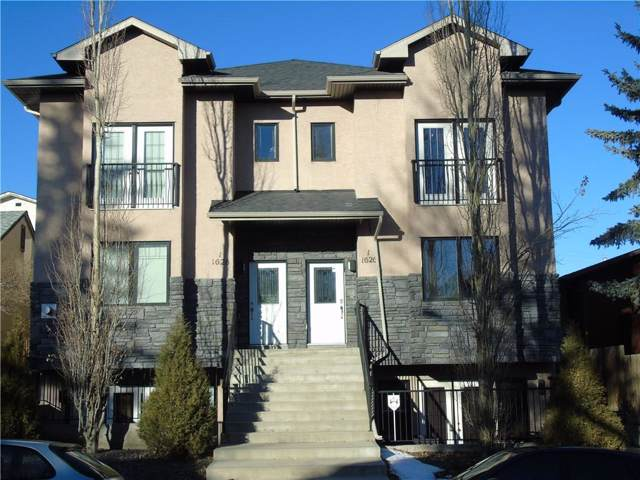 1628 29 Avenue SW #2, Calgary, AB T2T 1M5 (#C4275822) :: Canmore & Banff