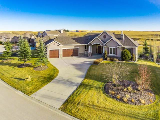 52 Montenaro Bay, Rural Rocky View County, AB T4C 0A5 (#C4276377) :: Redline Real Estate Group Inc