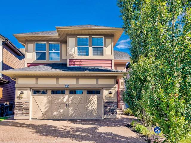 53 Chaparral Valley Green SE, Calgary, AB T2S 3H4 (#C4276409) :: Redline Real Estate Group Inc