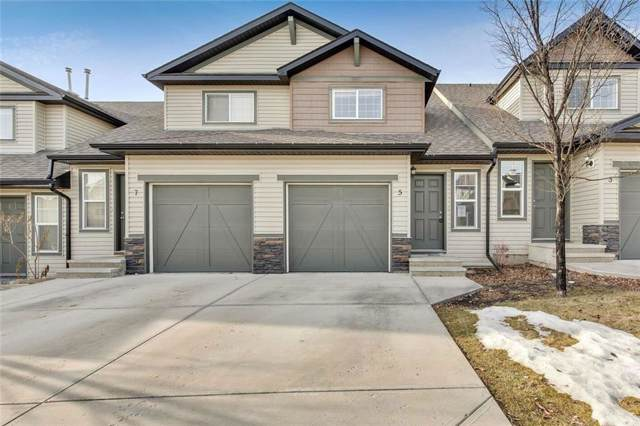 105 Drake Landing Common #5, Okotoks, AB T1S 0C9 (#C4276603) :: Redline Real Estate Group Inc