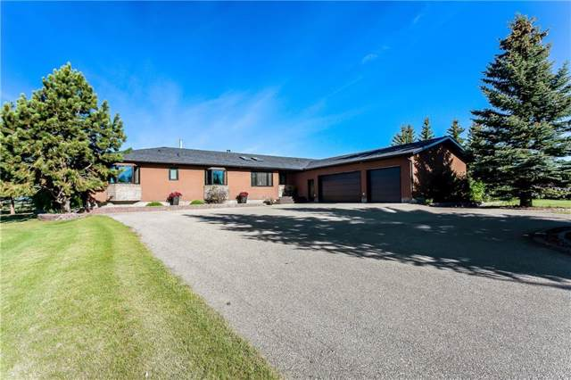 266091 24 Street W, Rural Foothills County, AB T0L 4L8 (#C4276609) :: Calgary Homefinders