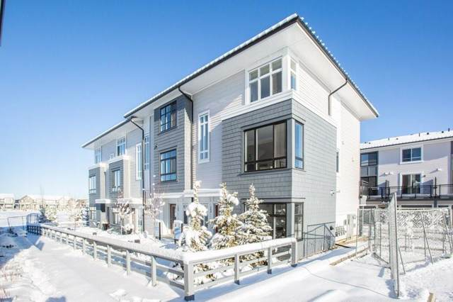 857 Belmont Drive SW #136, Calgary, AB T2X 4P2 (#C4277833) :: Canmore & Banff