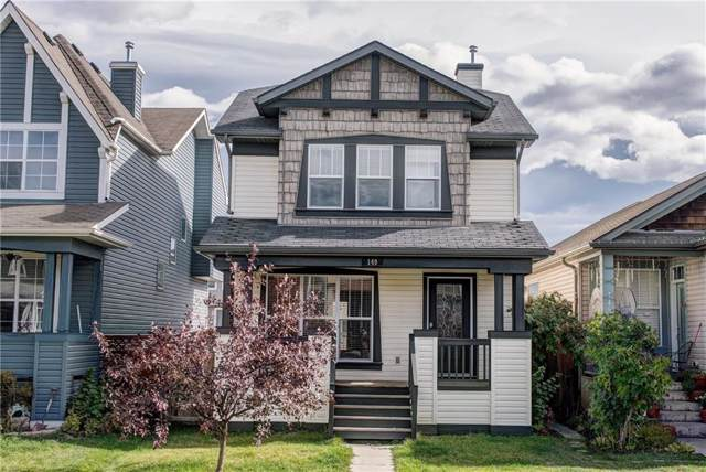 149 New Brighton Green SE, Calgary, AB T2Z 0J8 (#C4277914) :: Canmore & Banff