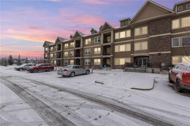 100 Cranfield Common SE #310, Calgary, AB T3M 1S1 (#C4277923) :: Redline Real Estate Group Inc