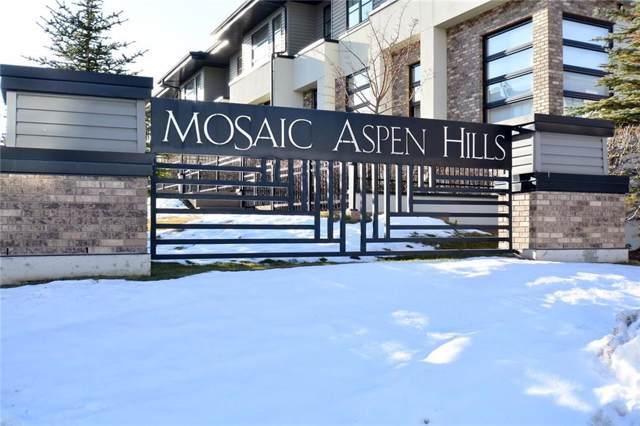 155 Aspen Hills Villa(S) SW, Calgary, AB T3H 0H7 (#C4278354) :: Canmore & Banff