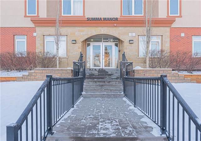 2419 Centre Street NW #402, Calgary, AB T2E 2T8 (#C4278432) :: Redline Real Estate Group Inc