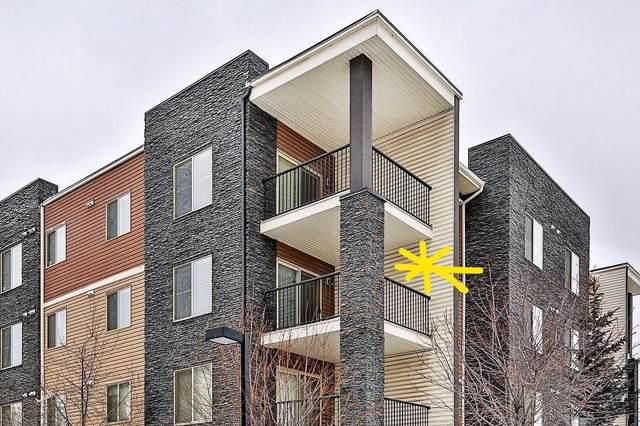 7110 80 Avenue NE #323, Calgary, AB T3J 0N4 (#C4278619) :: Canmore & Banff