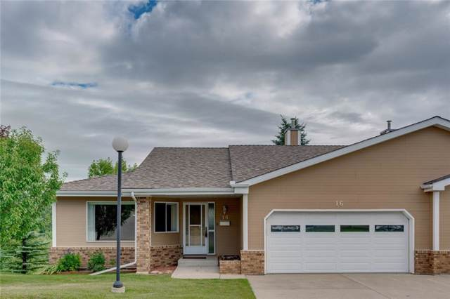140 Strathaven Circle SW #16, Calgary, AB T3H 2N5 (#C4278640) :: Canmore & Banff