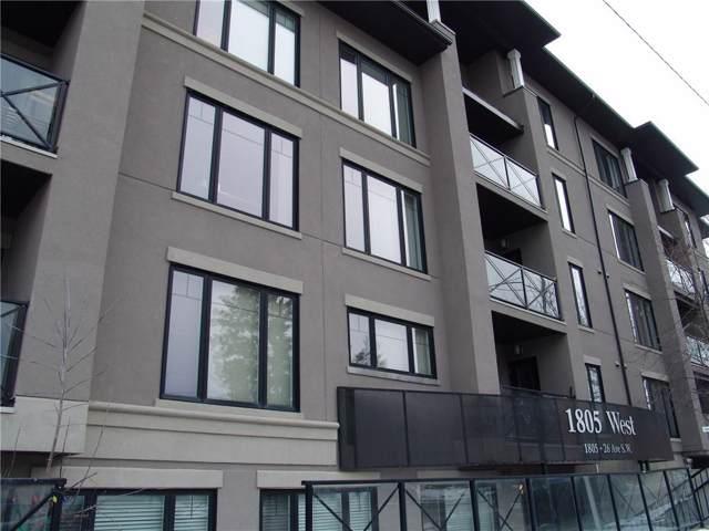 1805 26 Avenue SW #407, Calgary, AB  (#C4278648) :: Canmore & Banff