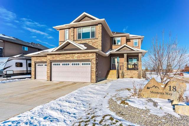 18 Monterra Way, Rural Rocky View County, AB T4C 0H1 (#C4278664) :: Redline Real Estate Group Inc