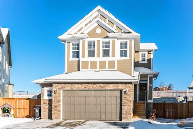 28 Heritage Terrace, Cochrane, AB T4C 0Y3 (#C4278702) :: Redline Real Estate Group Inc