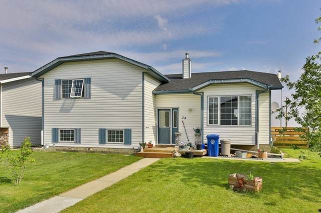 24 Chinook Crescent, Beiseker, AB T0M 0G0 (#C4278784) :: Canmore & Banff