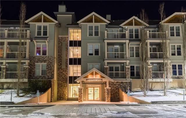 205 Sunset Drive #204, Cochrane, AB T4C 0H5 (#C4278831) :: Redline Real Estate Group Inc