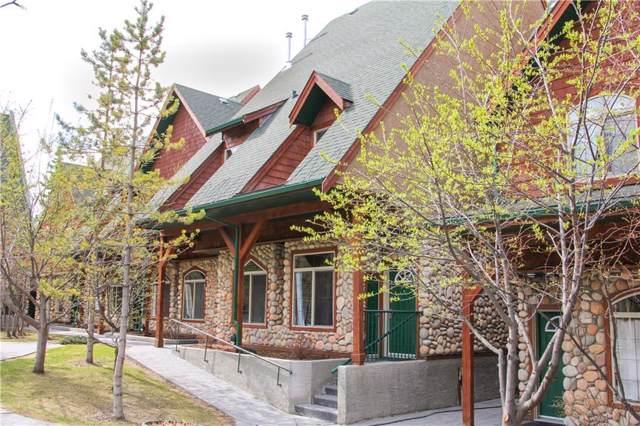 140 Kananaskis Way #109, Canmore, AB T1W 2X2 (#C4278954) :: Redline Real Estate Group Inc