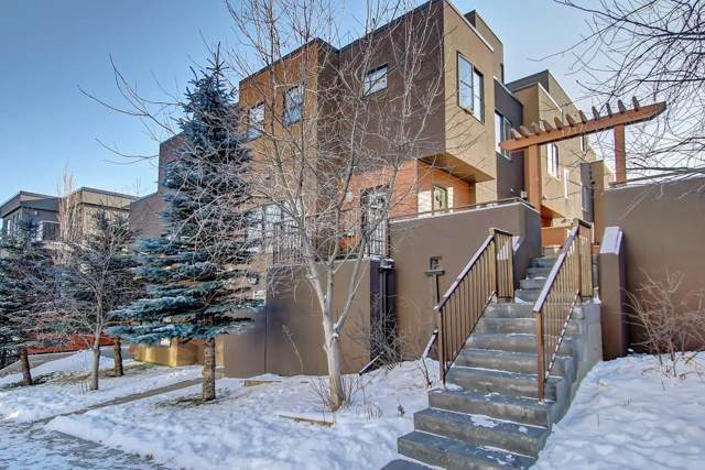 1717 27 Avenue SW #2, Calgary, AB T2T 1H8 (#C4279052) :: Canmore & Banff