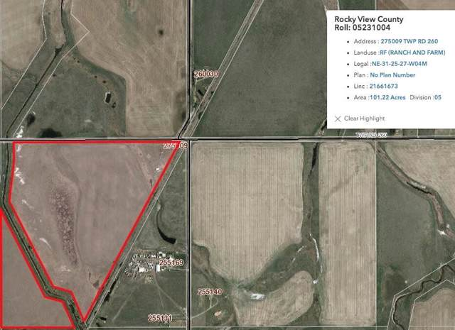 275009 Twp Rd 260, Rural Rocky View County, AB T1Z 0C4 (#C4279239) :: Calgary Homefinders