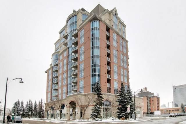 110 7 Street SW #801, Calgary, AB T2P 5M9 (#C4279448) :: Canmore & Banff