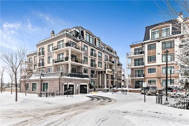 221 Quarry Way SE #401, Calgary, AB T2C 5M7 (#C4279486) :: Redline Real Estate Group Inc