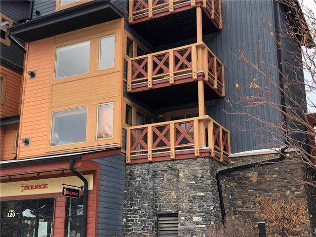 1140 Railway Avenue #206, Canmore, AB T1W 1P4 (#C4279490) :: Redline Real Estate Group Inc
