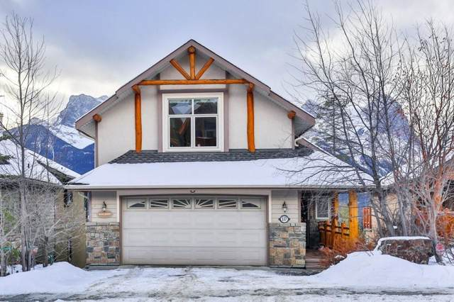 337 Eagle Heights, Canmore, AB T1W 3C9 (#C4279758) :: The Cliff Stevenson Group