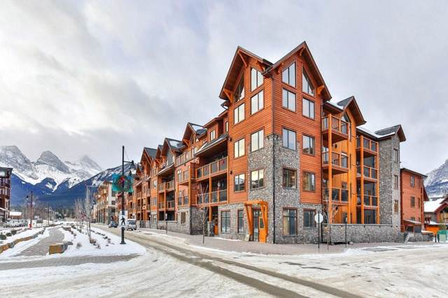 707 Spring Creek Drive #211, Canmore, AB T1W 0K7 (#C4279778) :: Canmore & Banff