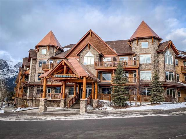 30 Lincoln Park #410, Canmore, AB T1W 3E9 (#C4279877) :: Canmore & Banff