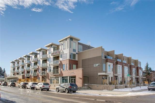 119 19 Street NW #304, Calgary, AB T2N 2S7 (#C4280600) :: Canmore & Banff