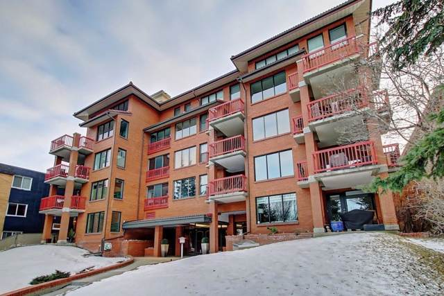 1313 Cameron Avenue SW #202, Calgary, AB T2T 0L2 (#C4280823) :: Canmore & Banff